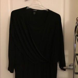 Black dress long sleeve fancy Lane Bryant